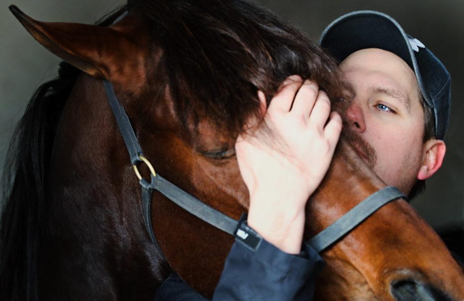 """Daniel Redén: """"Jag älskar mina hästar, alla mina hästar..."""" Foto Mia Törnberg"""