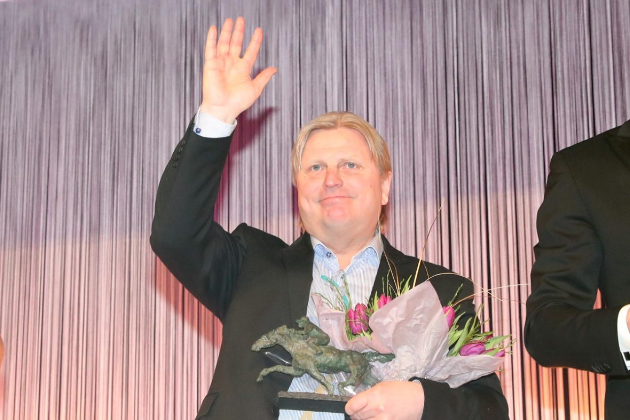 Blir det mer blomster till Veijo Heiskanen nu när han fått en flyfotad finländska i träning? Foto: Mia Törnberg