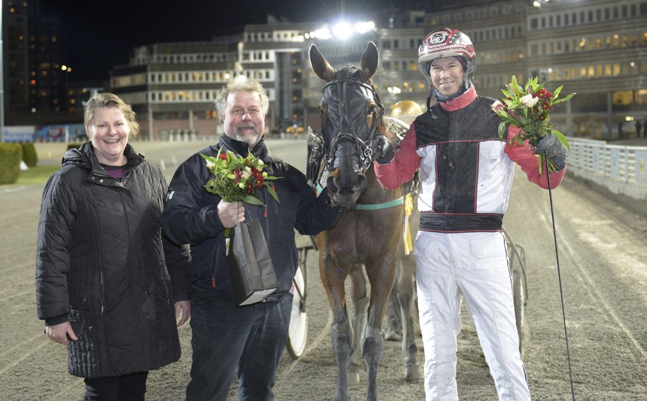 Catch My Love är en av de hästar vi varnar för inom söndagens V75-omgång. Foto Tommy Andersson/ALN