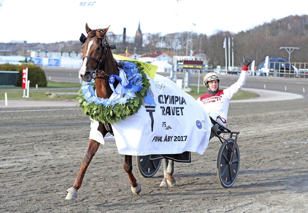Lionel och Göran Antonsen vann Olympiatravet tidigare i år. Foto Mia Törnberg