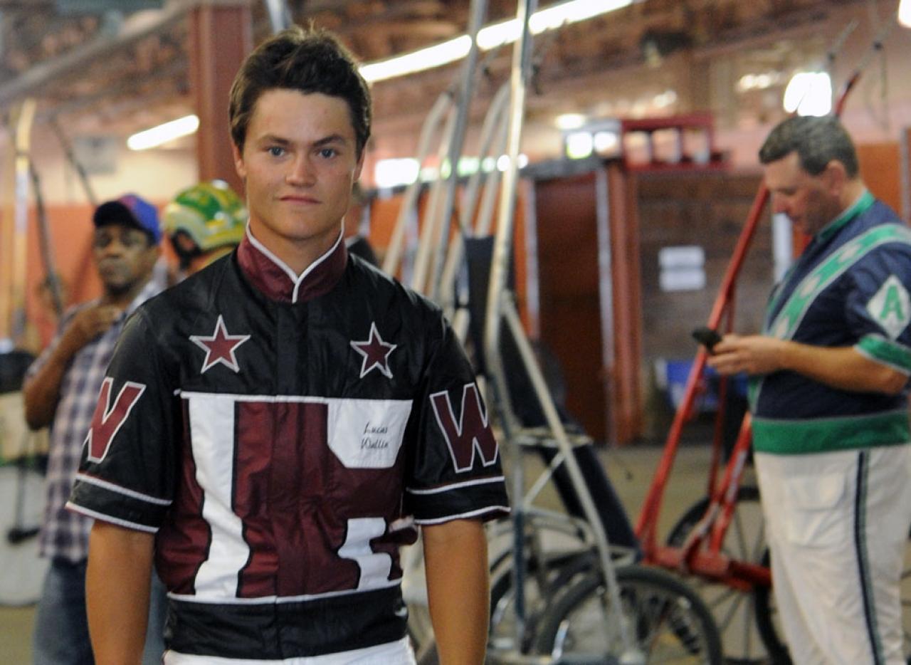 Lucas Wallin var en av fyra svenska tränare som vann travlopp igår i USA. Foto Adam Ström/stalltz.se