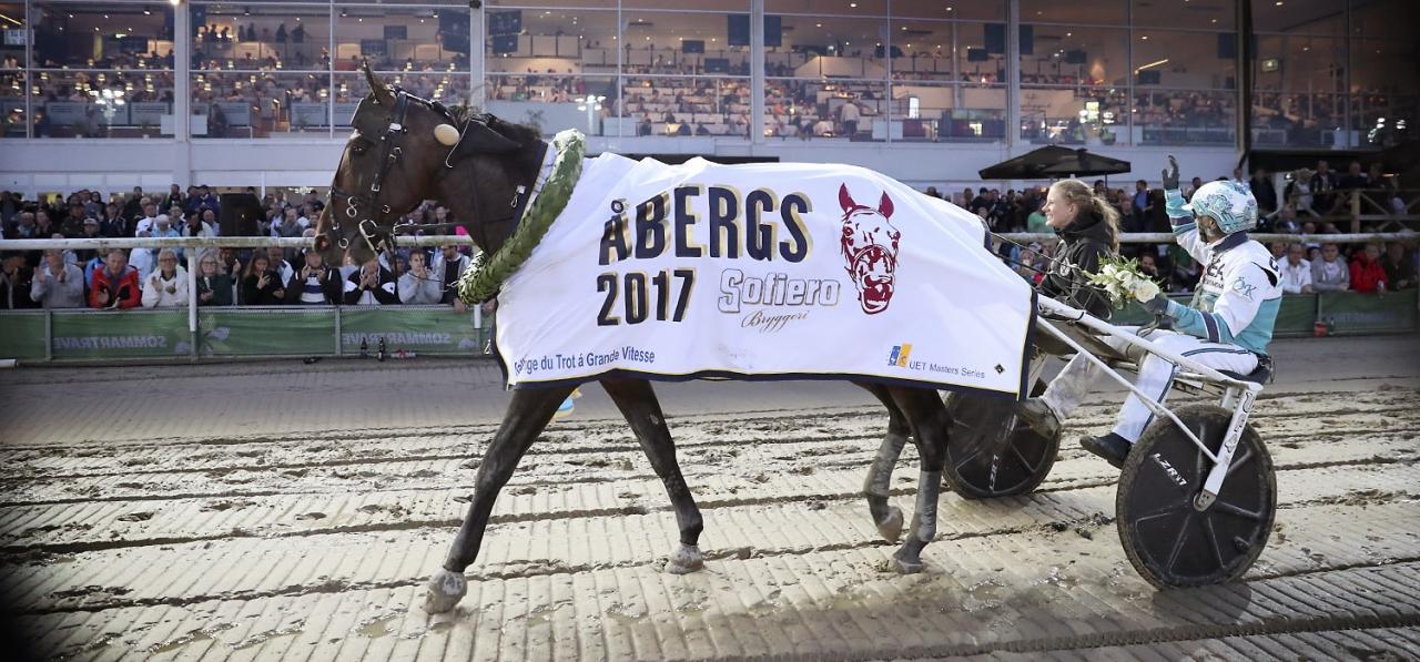 Propulsion vann Hugo Åbergs Memorial ifjol och även 2016. Ska han ta tredje raka på tisdag? Foto Mia Törnberg