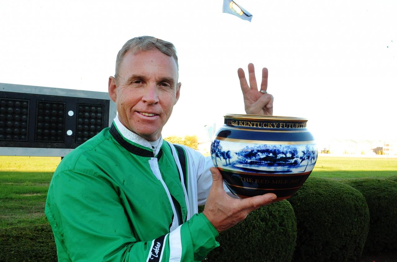 Jimmy Takter trivs på Red Mile och i natt blev det en seger och flera andrapris för svensken. Foto Adam Ström/stalltz.se
