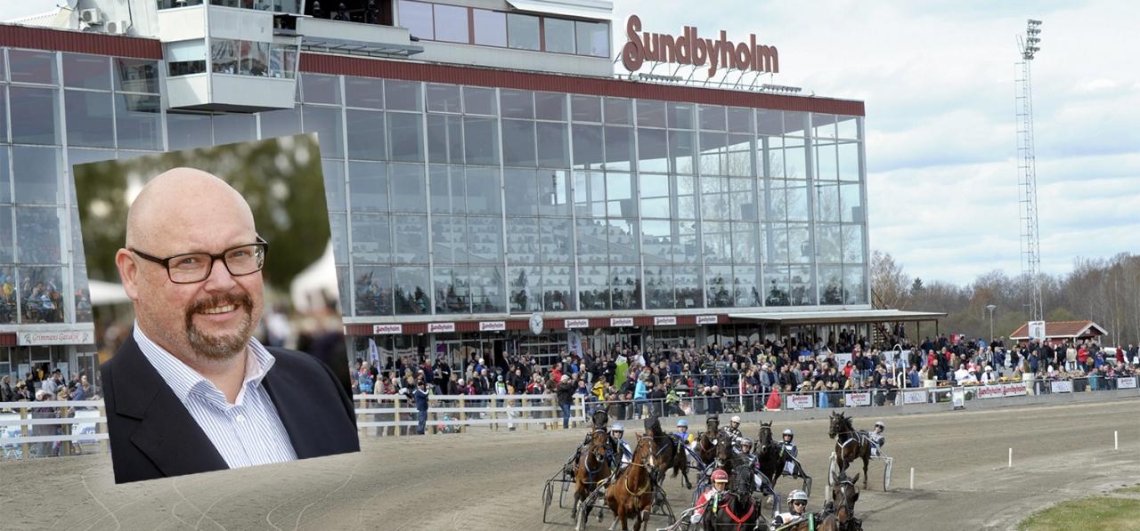 Sundbyholms travbana påverkas av beslutet om tävlingsprogrammet 2018. Foto: Martin Langels/ALN