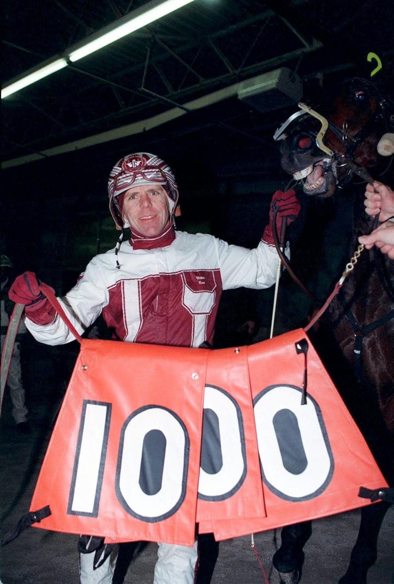 Walter Case Jr. var först i världen till 1.000 segrar en och samma säsong. Foto Stefan Melander/stalltz.se