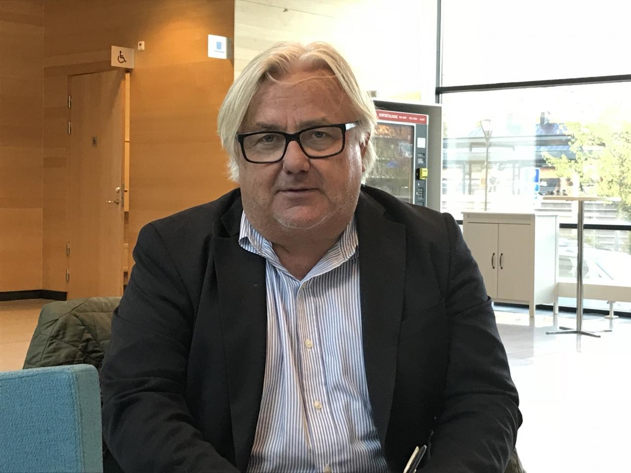 Advokat Staffan Uvabäck företräder Caballion AB i målet mot danska travsportens centralförbund (DTC). Foto Sulkysport.