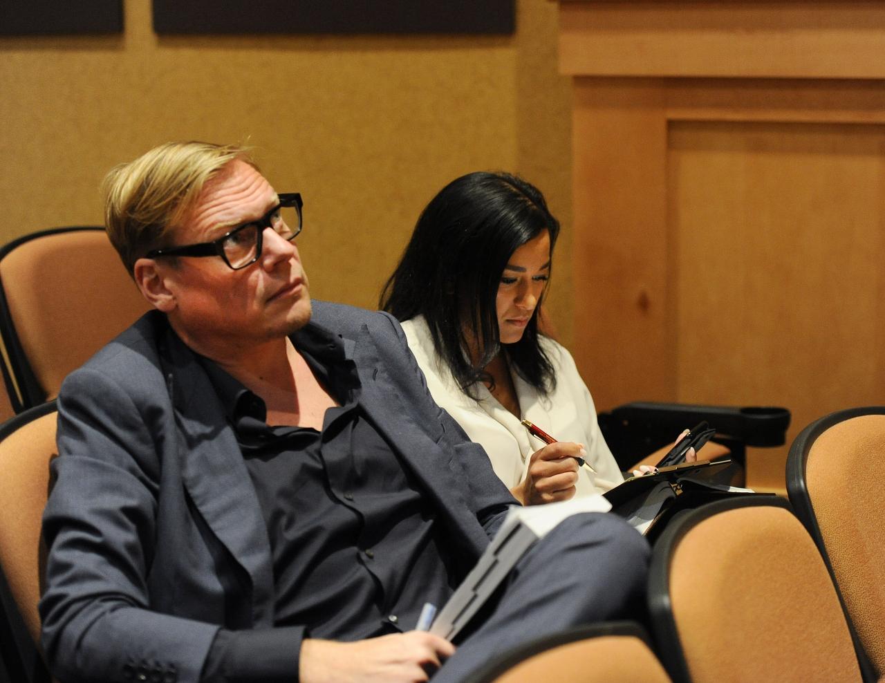 Anders Ström är en flitig köpare på amerikanska auktioner och igår förvärvades en halvbror till Fourth Dimension. Foto Adam Ström/stalltz.se