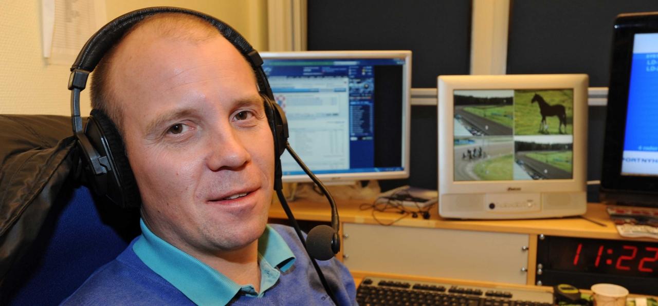 Åke S Olsson berättar om sitt arbete på ATG Live och travlivet i stort.