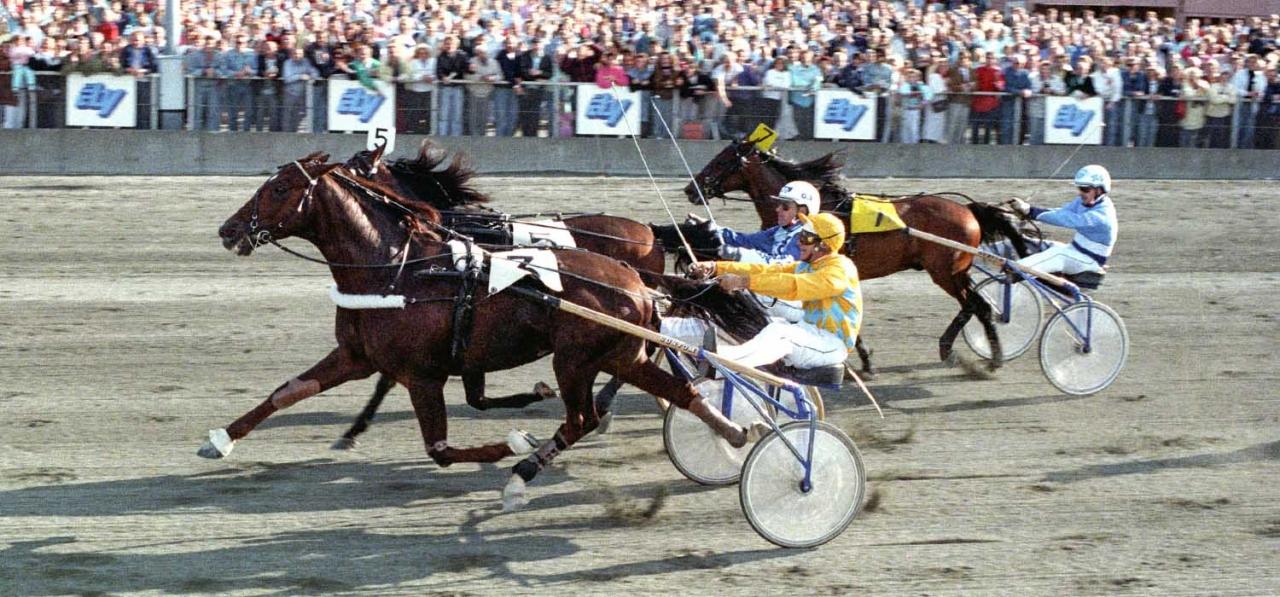 Ourasi vinner åby stora pris 1988. Foto Kanal75