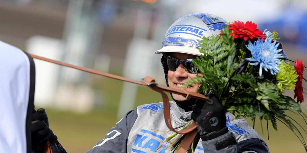 Carl Johan Jepson. Foto Mia Törnberg/Sulkysport