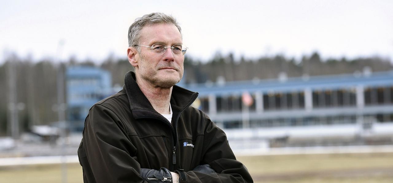 Thomas Knutsson. Foto: Magnus Strömsten/ALN