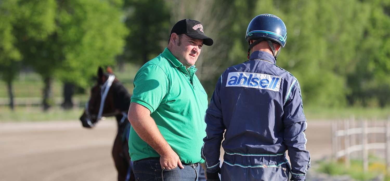 Brent Lilley och Stig H Johansson, Sulkysport, Travsport