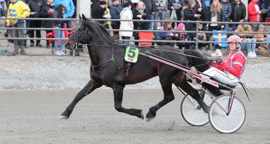 Månprinsen A.M. och Gunnar Melander, Sulkysport, Travsport