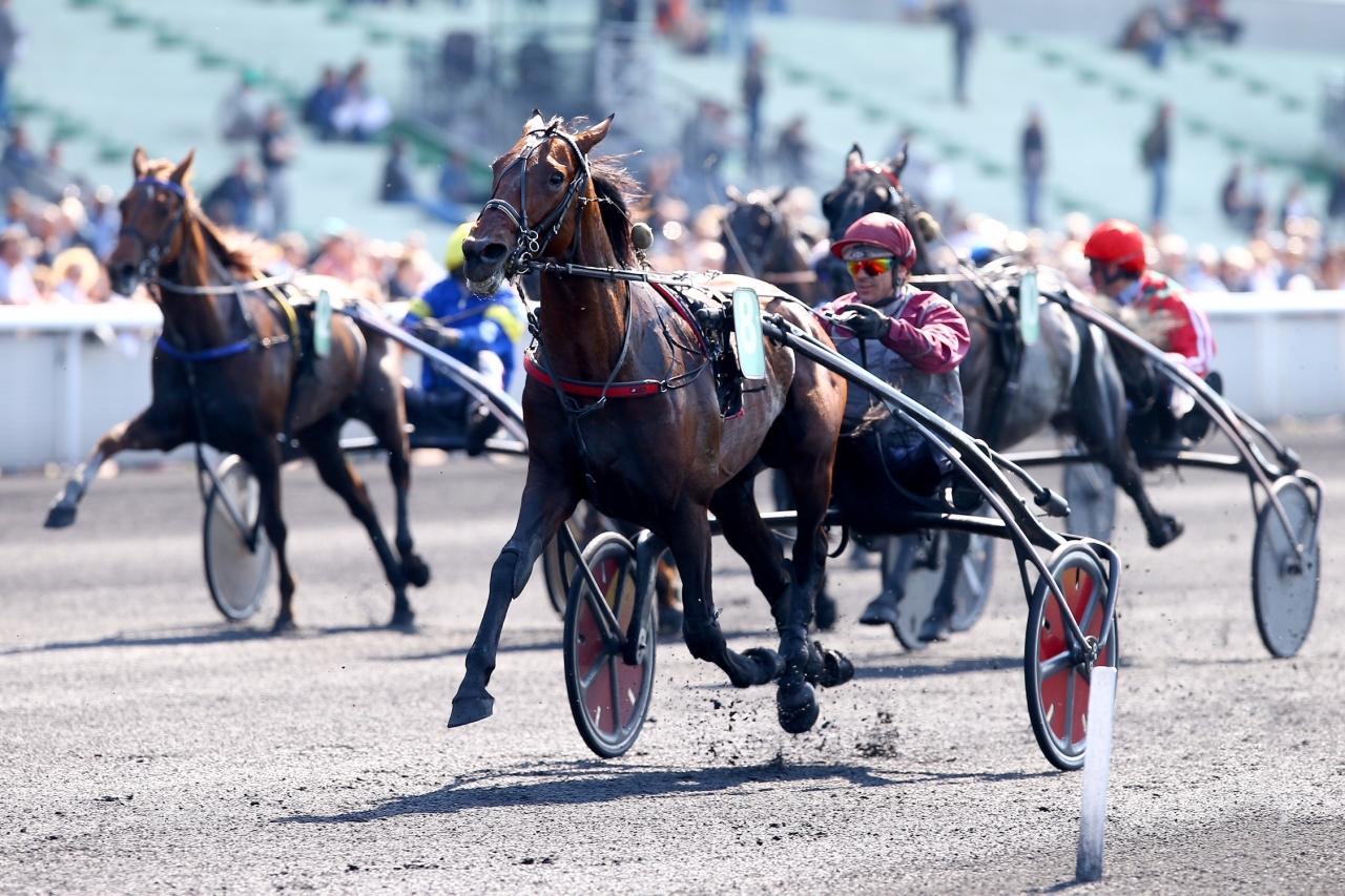 Traders och Yoann Lebourgeois vann i Caen. Foto: Scoopdyga