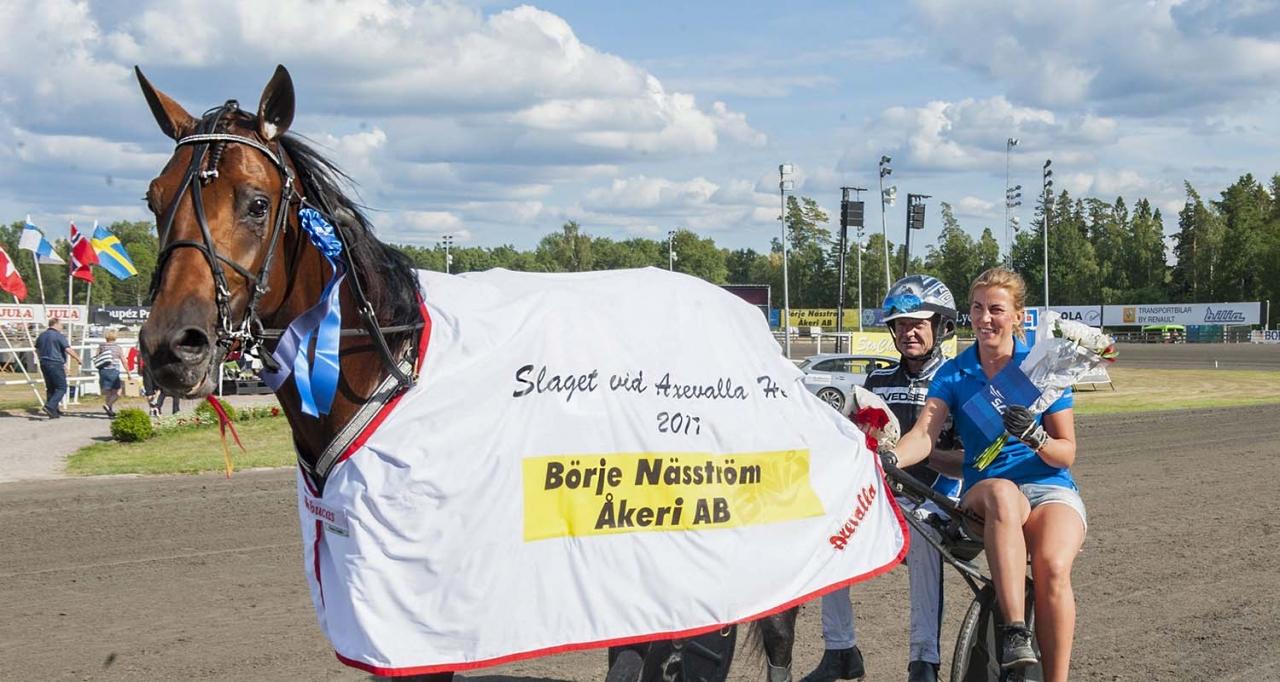 Hazard Boko vann Slaget vid Axevalla hed förra året. Foto Johan Grundin/ALN