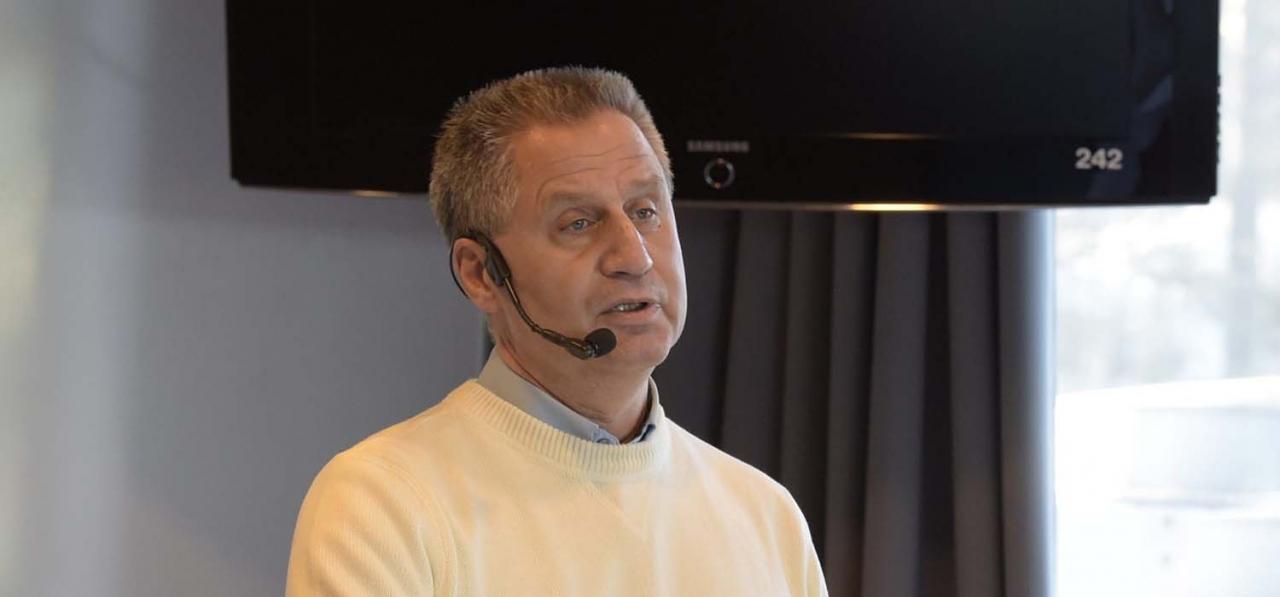 ST:s tillförordnade vd Ulf Hörnberg kommer behålla avtalen mellan ST och banorna gällande spelbolagen. Foto ALN