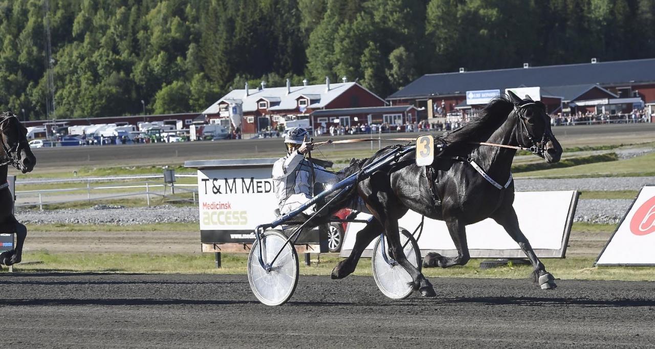 Mofaksan och Mikael Olsson vinner Sto SM. Foto Christer Norin/ALN.