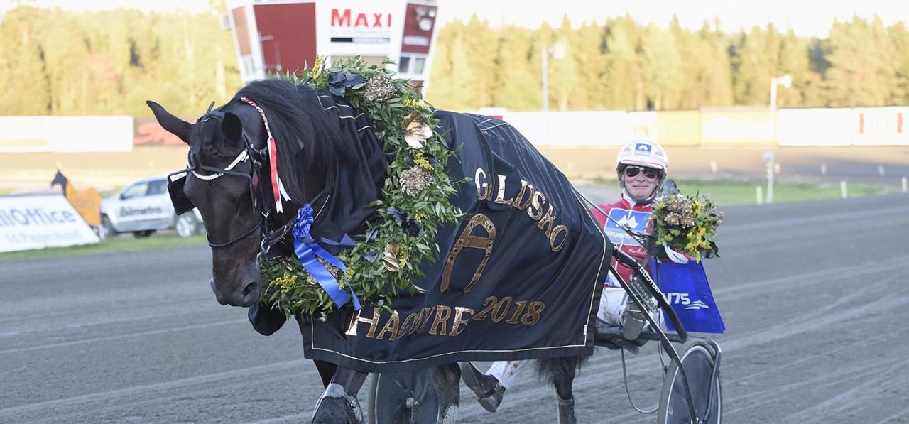 Charrua Forlan och Hans-Owe Sundberg blev årets segrare i E.J:s Guldsko. Foto Christer Norin/ALN