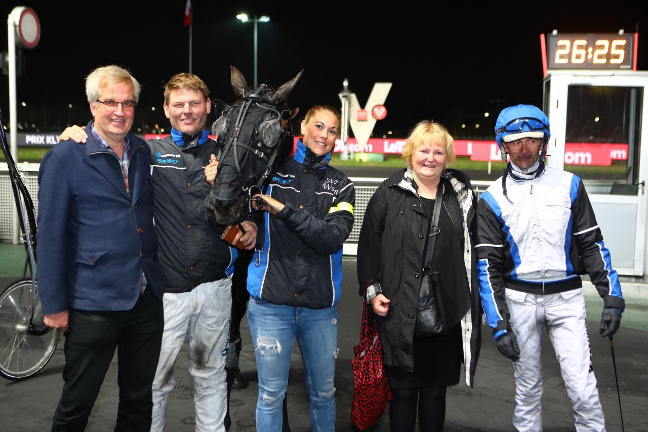 Inga In Heaven tog i Prix Klymene på Vincennes sin karriärs andra seger. Foto: Scoop Dyga.