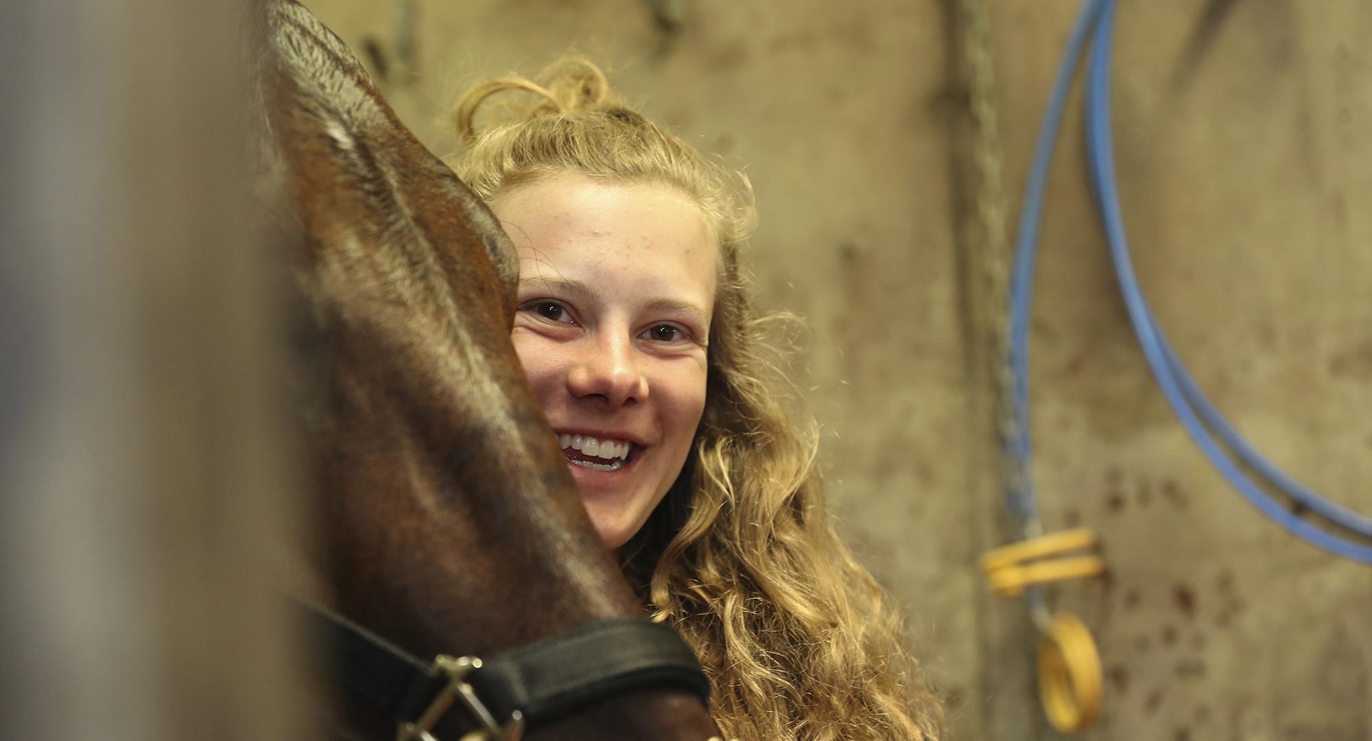 Ellinor Wennebring med Propulsion, Sulkysport, Travsport, travhäst