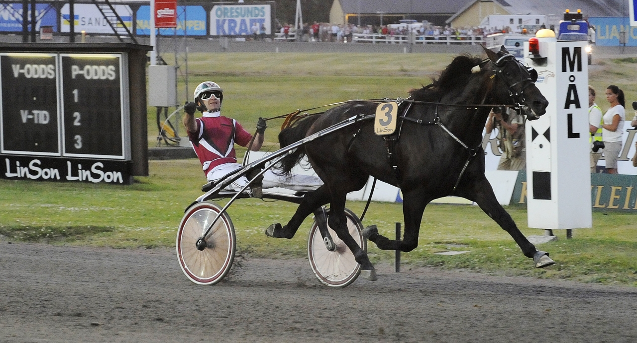 Lavec Kronos och Lutfi Kolgjini vid segern i Sprintermästaren 2009. Foto Hanold/ALN