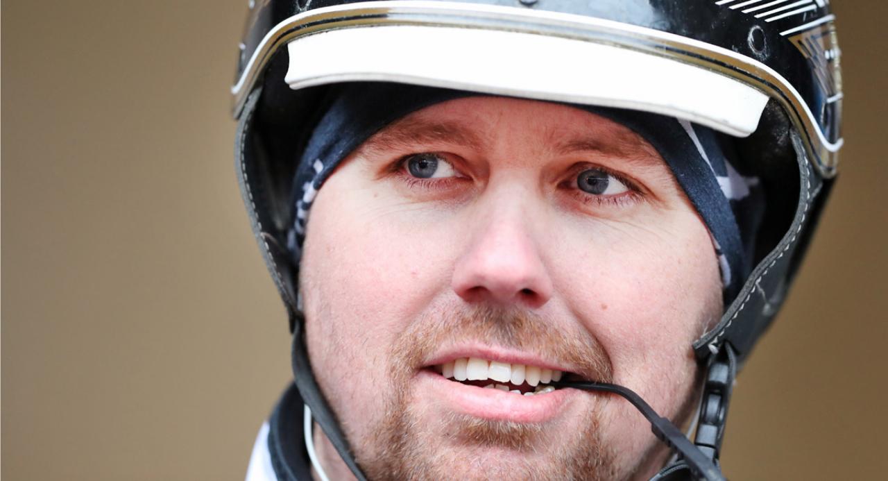Heavy Sound blir Daniel Redéns tredje häst i Elitloppet i år. Efter kvällens uppvisning lär inget kunna stoppa honom från att få en inbjudan. Foto: Mia Törnberg/Sulkysport