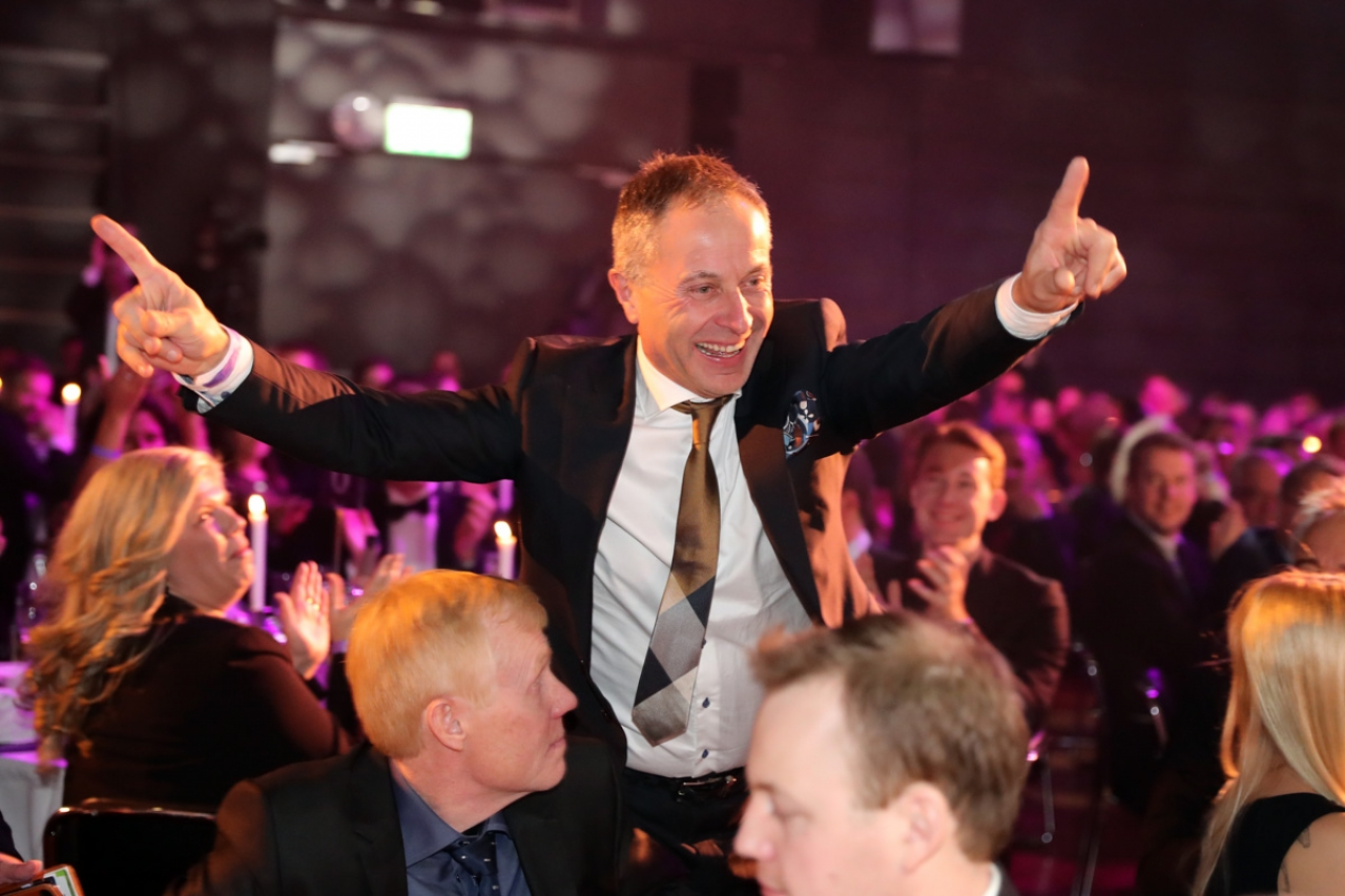 Peter Untersteiner tog sin första championat för året. Foto Mia Törnberg