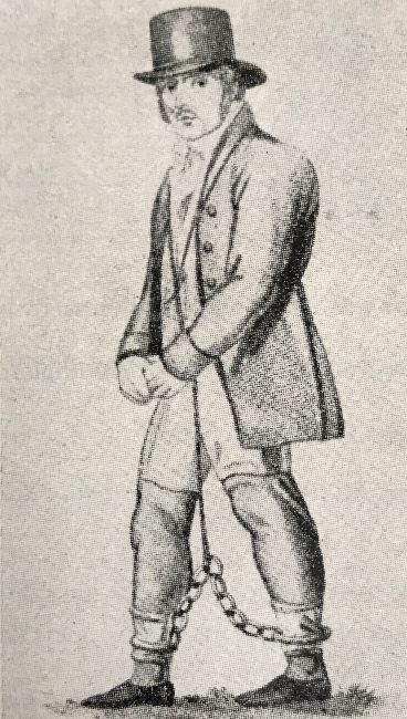 Daniel Dawson från Newmarkt hängdes 1811!