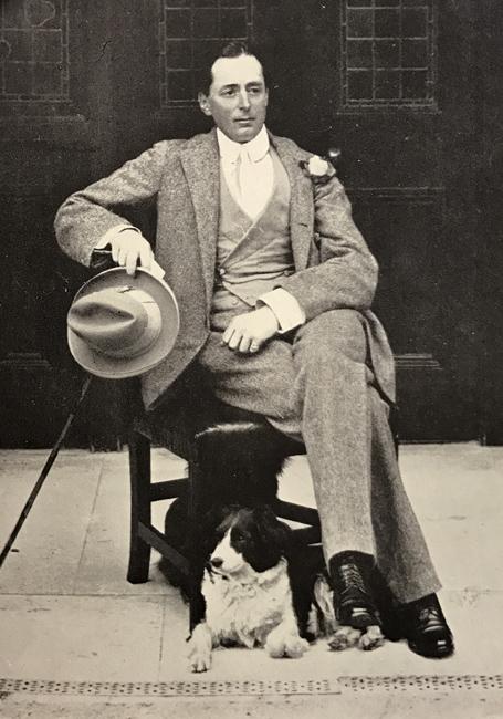 George Lambton på Bedford Lodge. Foto Clarence Hailey