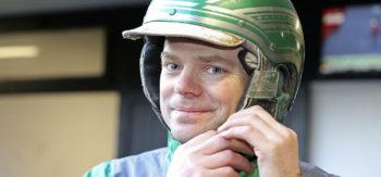 Ron Kuiper som tog en dubbel med egentränade hästar. Foto Mia Törnberg