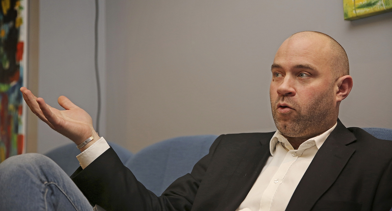 ST:s generalsekreterare Johan Lindberg får inte plats i det operativa rådet som ersätter koncernledningen i centralförbundet. Foto Mia Törnberg