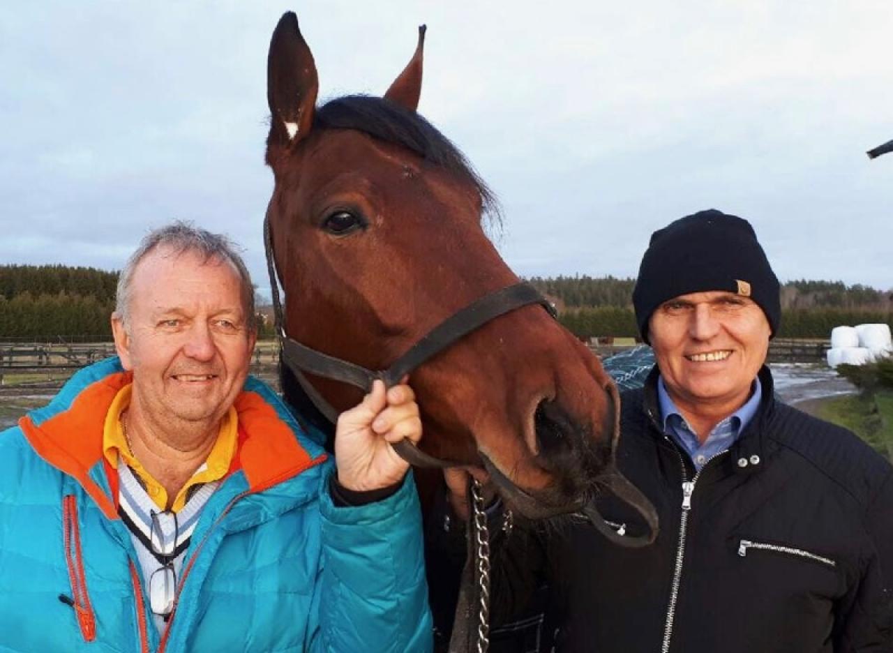 Kent Vestin (t.v.) och Håkan Skoglund. Foto: Stalltz.se