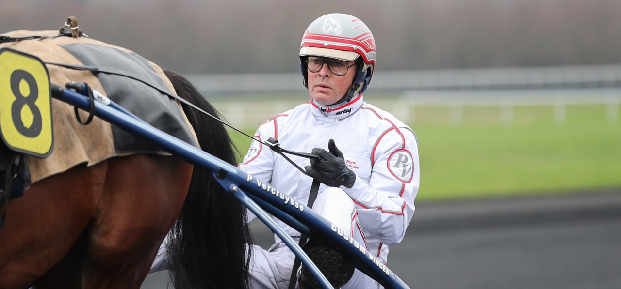 Pierre Vercruysse. Foto: Jeannie Karlsson, Sulkysport.