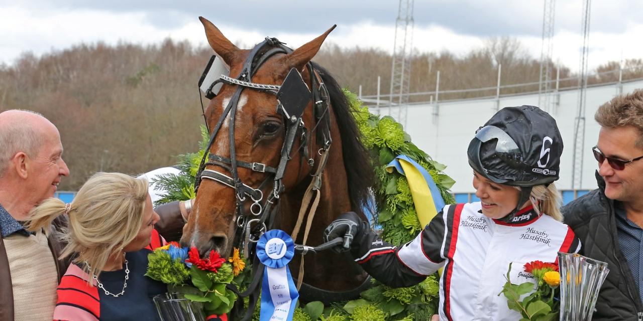 Anna Mix vann Olympiamontén med Josephine Ivehag. Foto Mia Törnberg