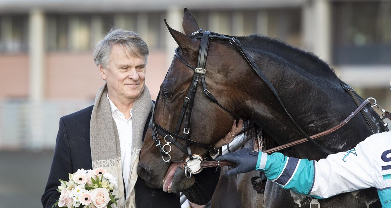 Lennart Ågren hade en vinnare i USA idag. Foto Mia Törnberg