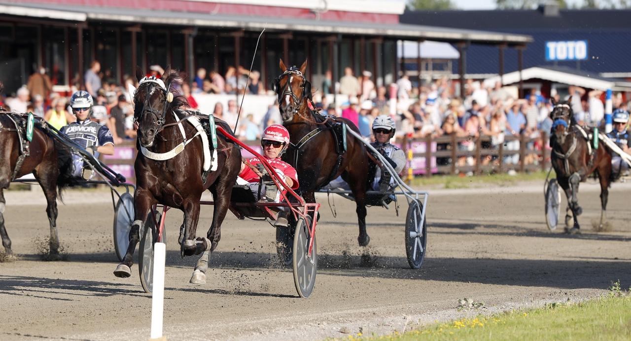 Allaballakaitoz och Peter Untersteiner vann Torsten Janssons Minneslopp. Foto Urban Kihlman/ALN