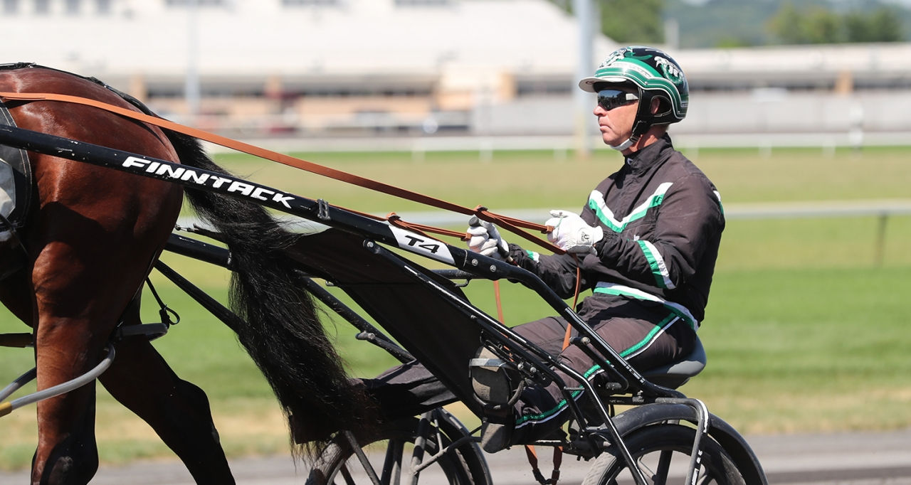 Jimmy Takter. Foto Jeannie Karlsson/Sulkysport