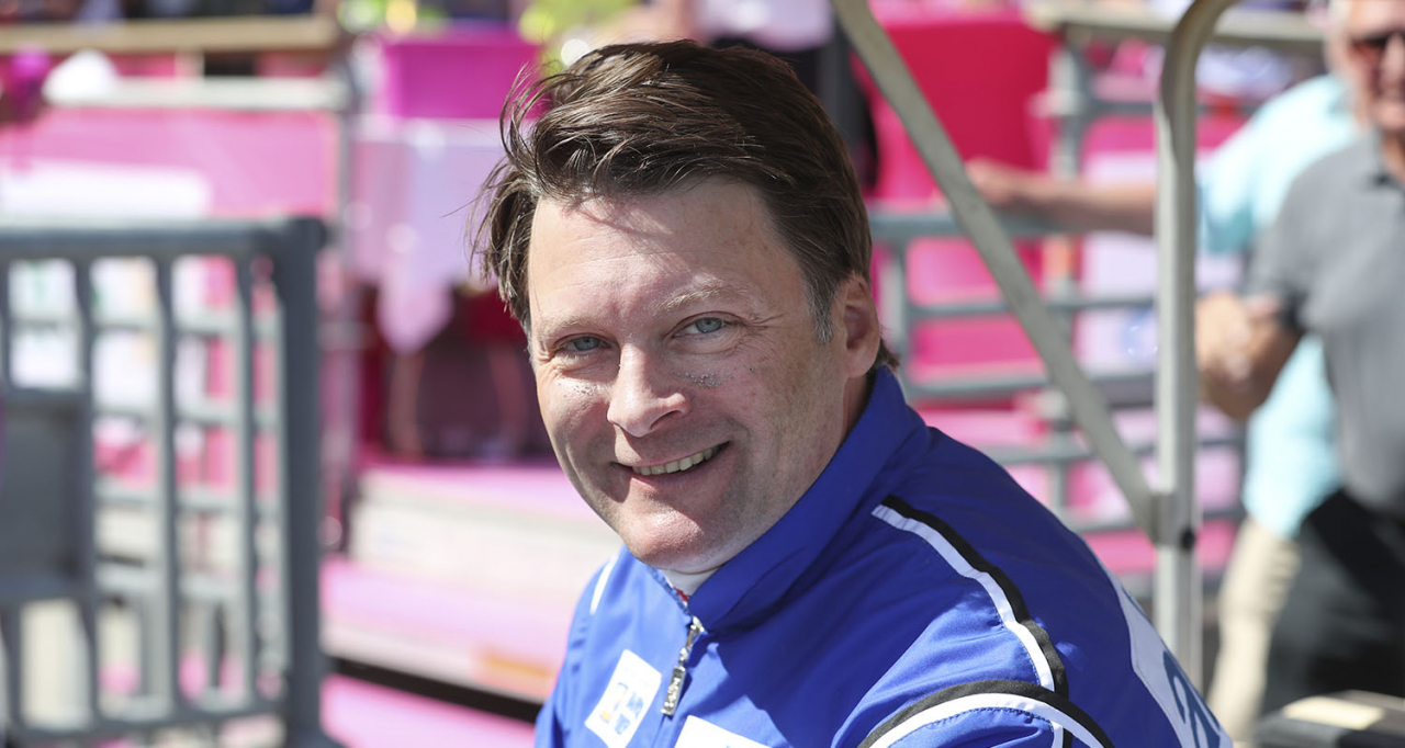Erik Adielsson. Foto Jeannie Karlsson/Sulkysport Solvalla 20180527