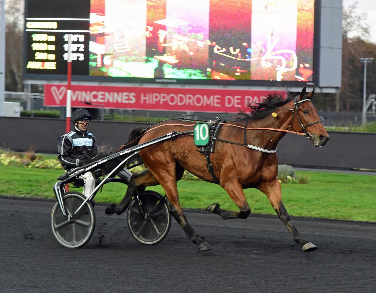Robert Berghs Mindyourvalue W.F. tog sin sjätte seger på fransk mark. Foto: Gerard Forni