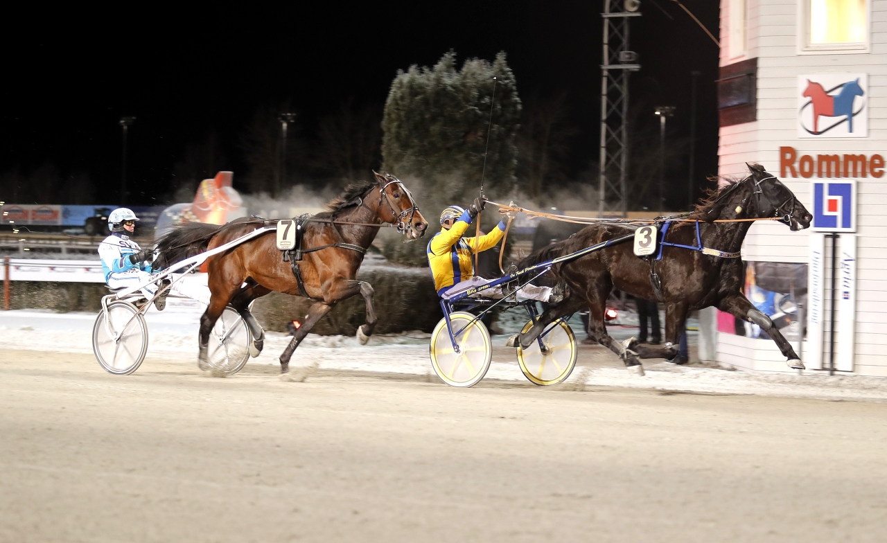 On Track Piraten bärgade karriärens 43:e seger på Romme och totalt har Hans R Strömbergs stjärna tjänat över 17 miljoner kronor. Foto MICKE GUSTAFSSON/ALN