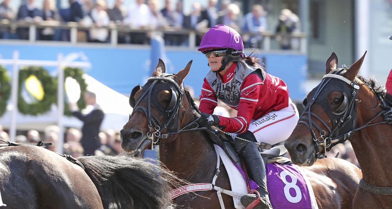 På bilden syns landets segerrikaste i år: Sofia Adolfsson. Foto Mia Törnberg