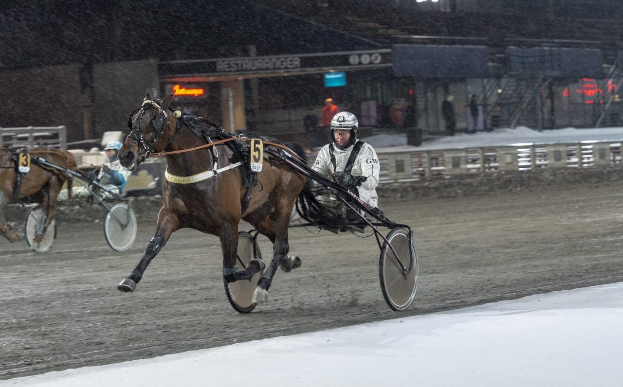 M.T.Malkin och Göran Wester ledde från start till mål. Foto Tommy Andersson/ALN