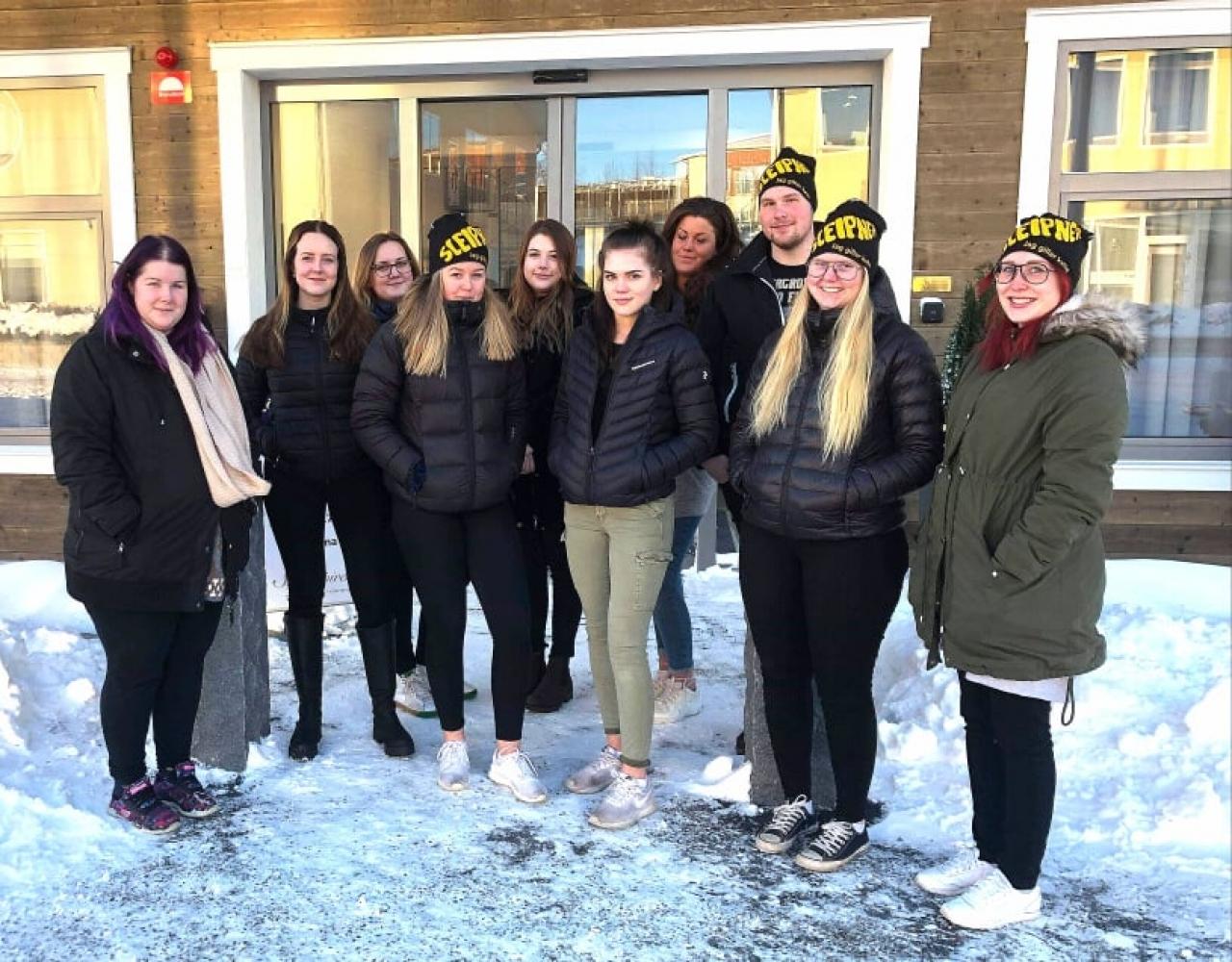 Sleiipners ordförandekonferens i Hudiksvall engagerade även travintresserade ungdomar. Foto: Privat