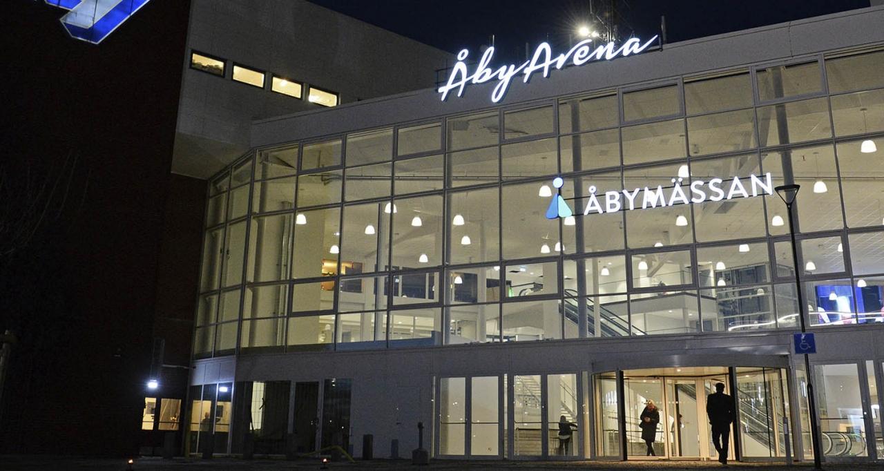 Åby Arena är samlingsnamnet för såväl Åbytravet som Åbymässan. I förra veckan var det premiär för den första mässan. Foto Malin Albinsson/MVA foto