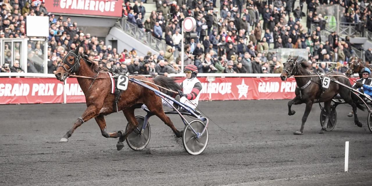 Cleangame vid vinsten i Prix du Luxembourg tidigare i år. Foto Mia Törnberg