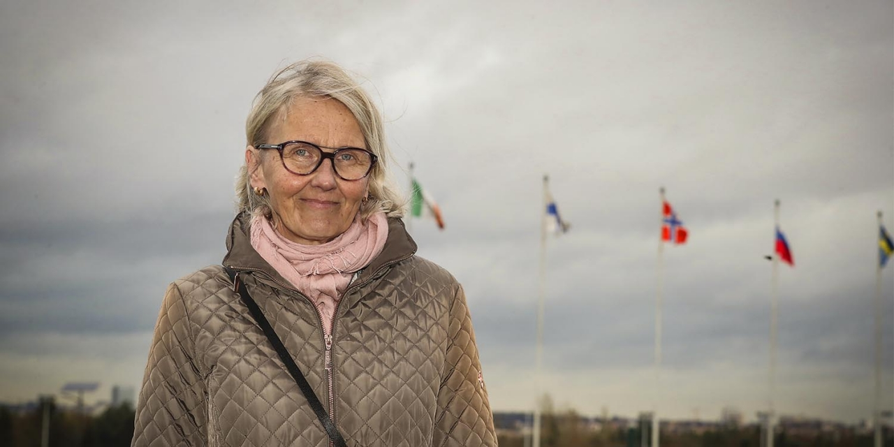 Marjaana Alaviuhkola och ST:s styrelse håller kvar vid gamla V75-starttiden tills vidare. Foto Mia Törnberg