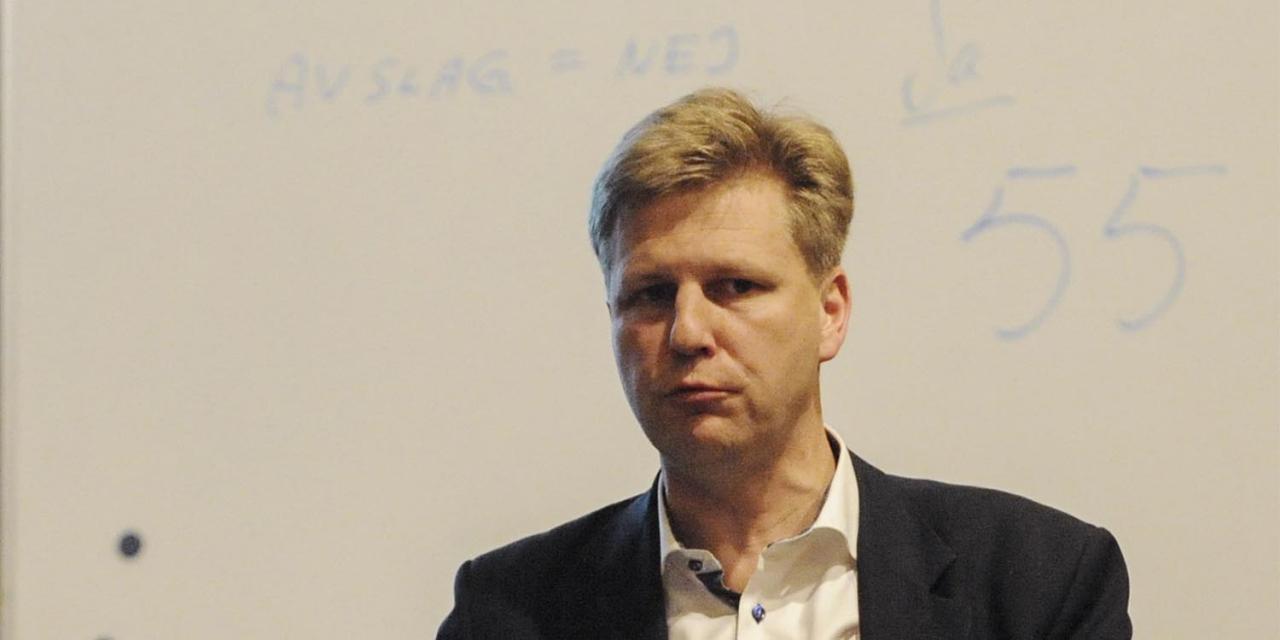 Björn Frössevi är ny ordförande på Sundbyholmstravet. Foto: Adam Ström/stalltz.se