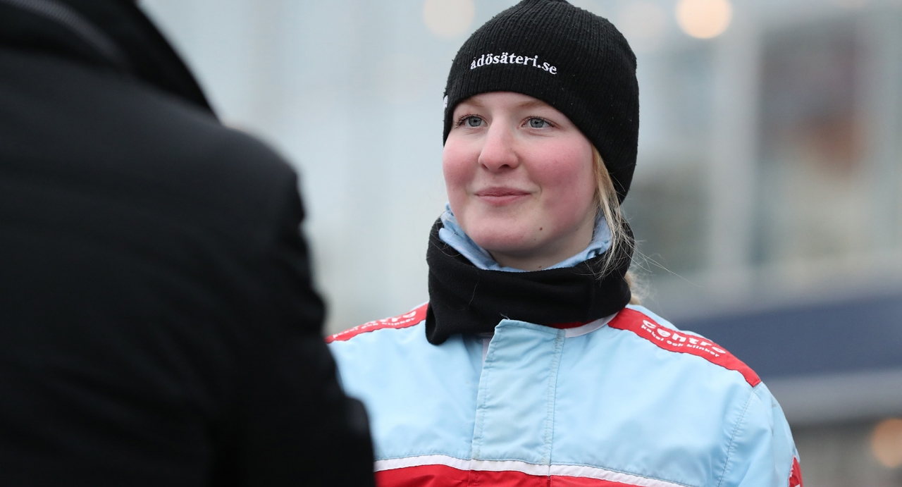 Ida Riesterer. Foto Jeannie Karlsson/Sulkysport