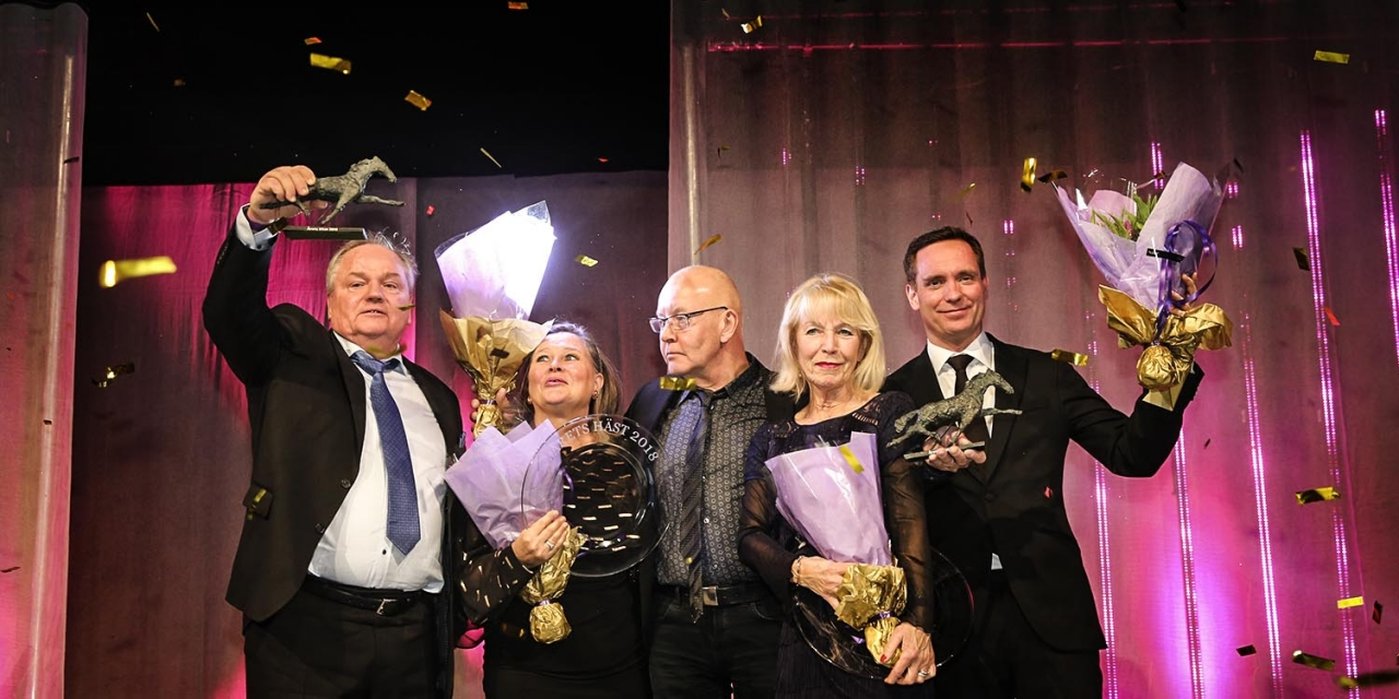 Stort grattis till Stall Timo Nurmos och kretsen kring Årets Häst 2018: READLY EXPRESS! Foto Mia Törnberg