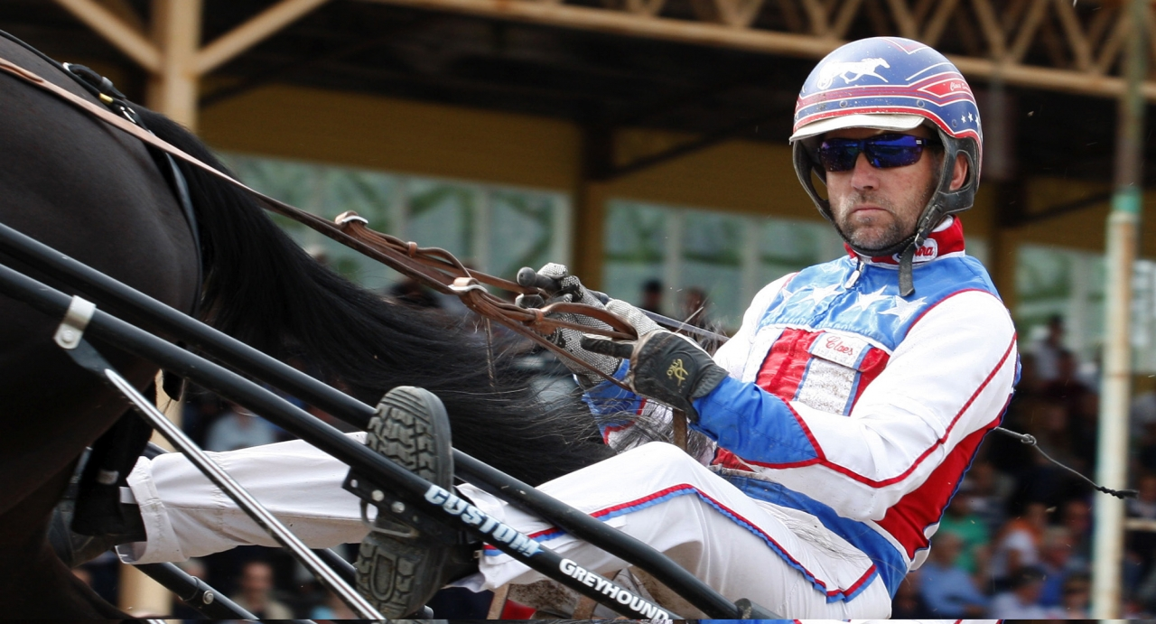 Claes Svensson skadades allvarligt när han blev sparkad av en häst i hagen igår. Foto Hanold/ALN